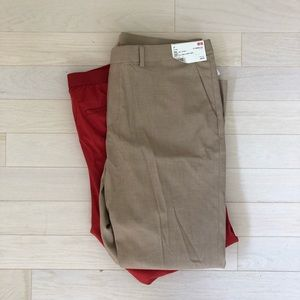 LOT OF 2 smart style ankle pants